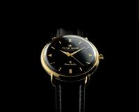 Guld-sort-skive-guld-viser-sort-rem